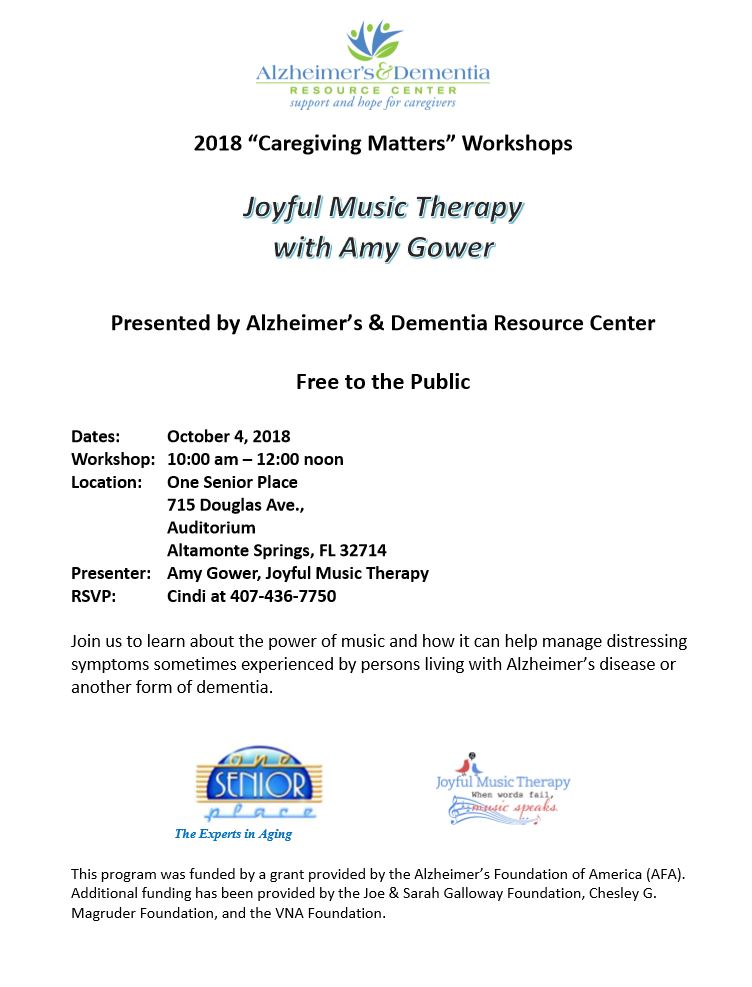 Joyful Music Therapy with Amy Gower