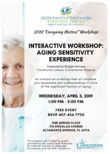 2019 Caregiving Matters Workshops