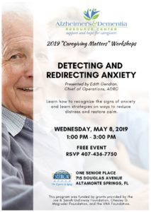 Detecting and Redirecting Anxiety